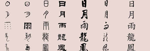 Chinese Characters Evolution Chinese Characters Have